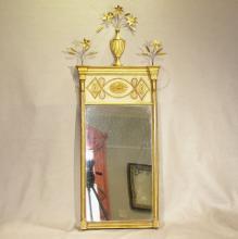 Antique Federal Period Gilded Mirror, Ca. 1810