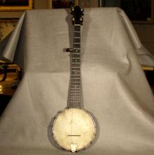 19th Century Child's Size Banjo by J.B. Schall