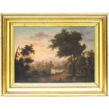 Luminous Landscape Attributed to Charles Codman