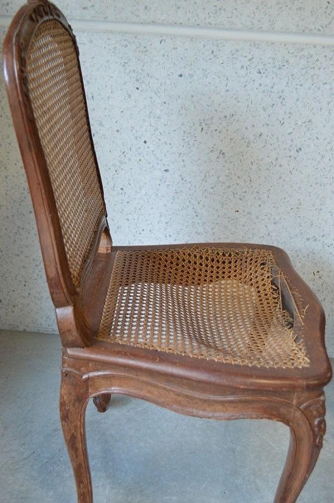 louis cresson paire de chaises cann 233 es estil
