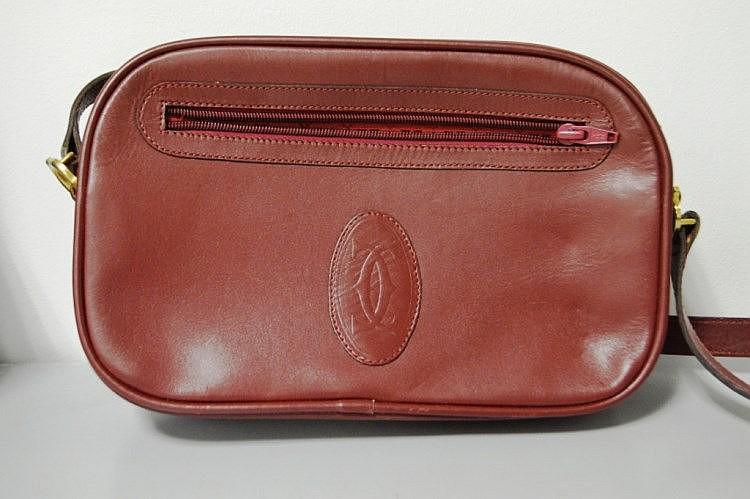 Sac A Main Blanc Pochette : Cartier sac ? main pochette rectangle