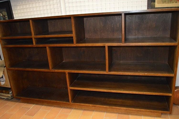 Bibliotheque scandinave en teck 200x 112 cm - Bibliotheque scandinave vintage ...
