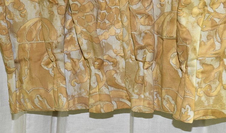 Group eight fortuny fabric drapes - Fortuny real estate ...