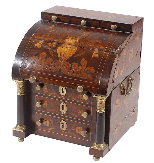 Peachtree Wood Furniture ~ Th century miniature desk form box