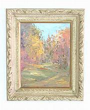 Winifred W. Compton Oil on Panel