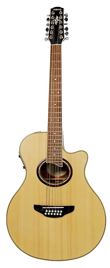 YAMAHA 12 STRING ACOUSTIC ELECTRIC GUITAR