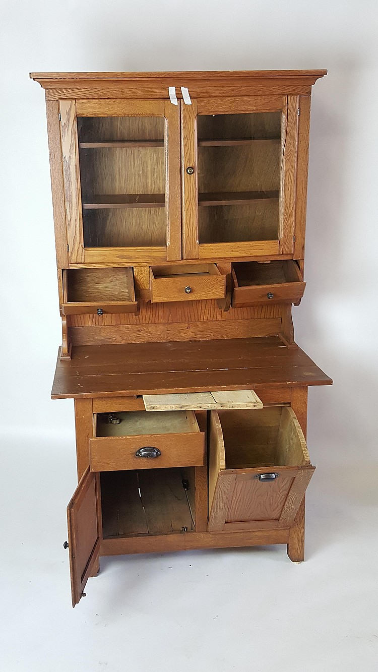 Peachtree Wood Furniture ~ Two piece wood cabinet
