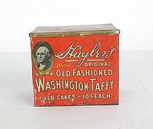 Huyler's Old-fashioned Washington taffy Tin
