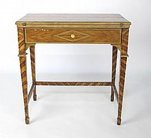 Blonde Marquetry Table