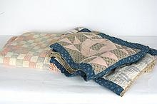 Two Vintage Country Quilts