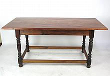 19th C. French Harvest Table