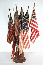 Country Store Flag Display Stand