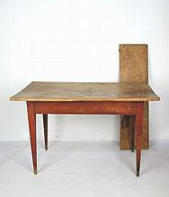 Antique American Country Pine Single Drop Table