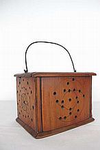 Vintage Wood Pigeon Transport Box