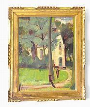 Albert Alleman (1892-1967) Oil Painting