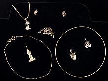 Ladies 14K Gold Jewelry Lot