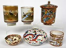 Group Lot 6 Small Asian Porcelains