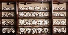 97 Pc Mason's English Ironstone China Mandalay