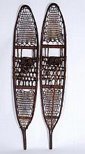 Pair Of Snow Shoes From Norway Maine
