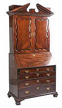 18/19th Century Mahogany Secretary Desk