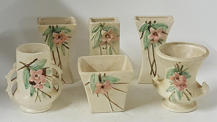 Six Mccoy Vases