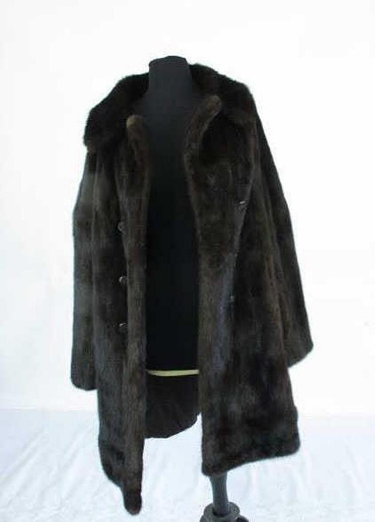 Mink Coat Value >> Spear Picardi Fur Coat Vintage Mink Fur Coat By Spear Pi
