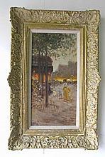 Wilhelm Petersen (1900-1987) Oil on Board