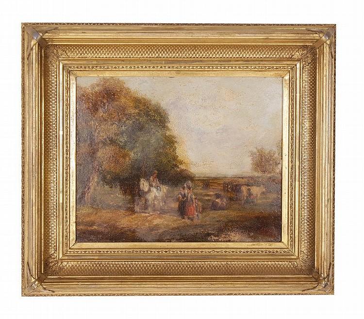 Old master landscape for Classic house genre