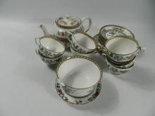 Indian tree pattern tea set