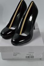 Dorothy Perkins Farna black patent style high heels[size 7 UK]