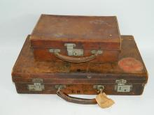 Two vintage cases