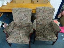 Pair of Parker Knoll arm chairs