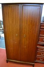 Stag double door wardrobe