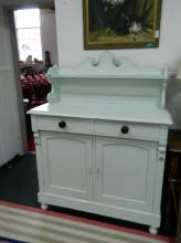 Painted dresser late 19th Century (5 1/2 ft L x 50cm approx)