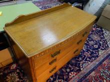 Oak 3 drawer chest