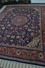 Large Afgani style rug approx 13ft by 10ft (excellent quality)