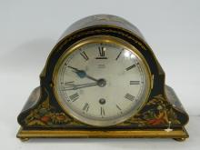 A nice example of Edward of Glasgow chinoiserie clock (without key but ticks away)