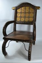 Indian Maharaja style 'Throne ' chair