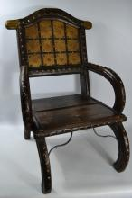 Indian Maharaja style 'Throne' chair