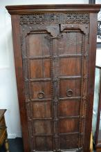 Solid teak cabinet from the Swat valley region