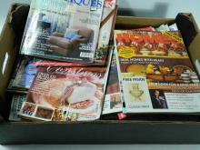 Selection of Home and Antique magazines
