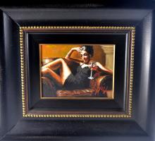 Fabian Perez Paintings & Artwork for Sale   Fabian Perez Art