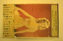 1958 Marilyn Monroe Pin-up calendar