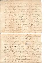 Continental Congress delegate Benjamin Huntington signs Revolutionary War dated document