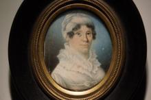 Portrait miniature of Ann Thayer, 1830s