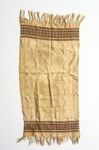 19th century textile commemorating George Washington