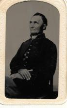 8th Connecticut veteran tintype, fought at Antietam, marched in Burnsides Mud March