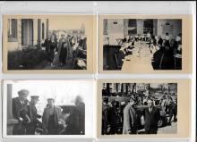 Eleanor Roosevelt visits Bowdoin College, 1942
