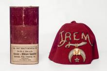 Late 19th century Shriner's fez