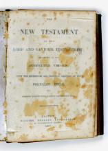 1857 Polyglot bible, printed Boston